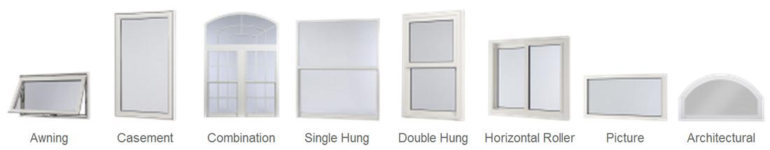 Hurricane Window Styles