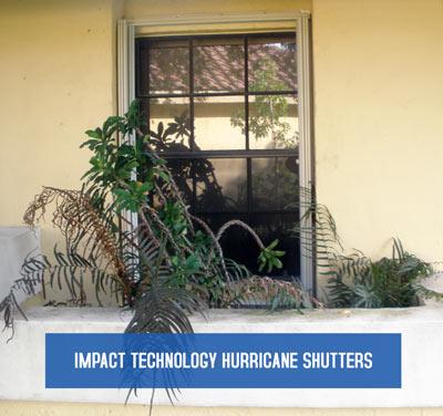 Hurricane Shutters - Impact Technology High Velocity Shutter