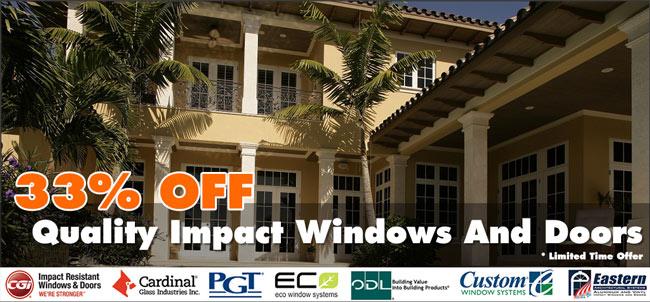 Impact Windows And Doors Sale Florida